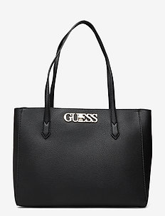 UPTOWN CHIC ELITE TOTE - shoppers - black