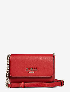 ALMA MINI CROSSBODY FLAP - RED