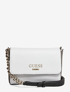 ALMA MINI CROSSBODY FLAP - WHITE MULTI