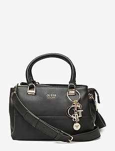 LILA SMALL GIRLFRIEND SATCHEL - BLACK