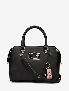 ANNARITA GIRLFRIEND SATCHEL - BLACK