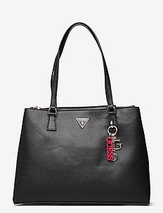 BECCA LUXURY SATCHEL - handbags - black