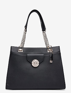 BELLE ISLE SOCIETY CARRYALL - top handle - black