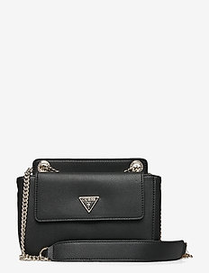 SANDRINE CONVERTIBLE CROSSBODY - crossbody bags - black