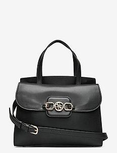 HENSELY SATCHEL - handväskor - black