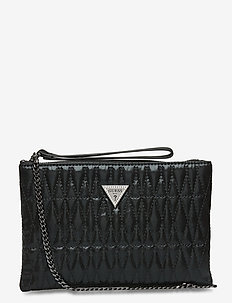 PIXI WRISTLET CLUTCH - clutches - black
