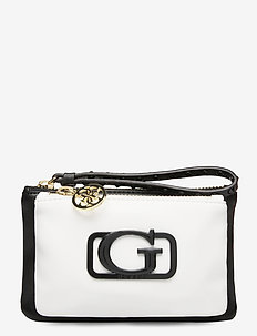 DOUBLE POUCH - clutches - black/white