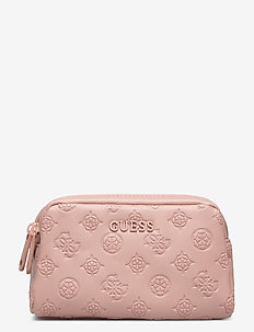 ANNABEL DOUBLE ZIP - toilettassen - blush