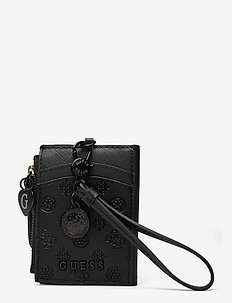 CARD CASE KEYRING - korttikotelot - black