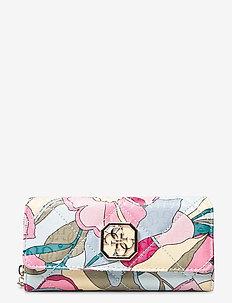 DILLA SLG LRG CLUTCH ORGANIZER - kirjekuorilaukut - floral multi