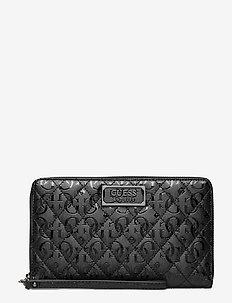 LOLA SLG PASSPORT CASE - clutches - black