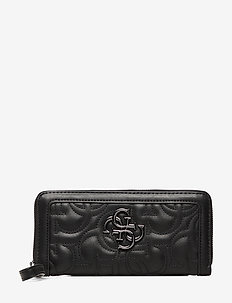 NEW WAVE SLG LARGE ZIP AROUND - BLACK