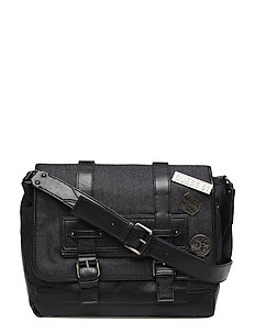 AMERICAN COUNTRY NEW MESSENGER - BLACK