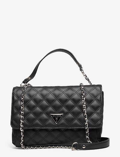 CESSILY CONVERTIBLE XBODY FLAP - crossbody bags - black