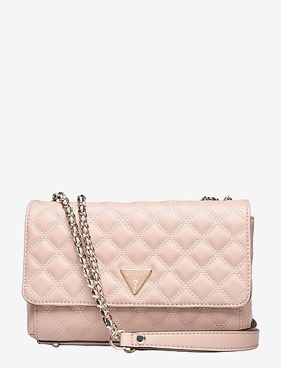 CESSILY CONVERTIBLE XBODY FLAP - crossbody bags - rosewood
