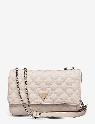 CESSILY CONVERTIBLE XBODY FLAP - crossbody bags - stone