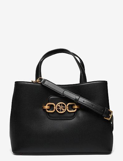 HENSELY GIRLFRIEND SATCHEL - håndtasker - black
