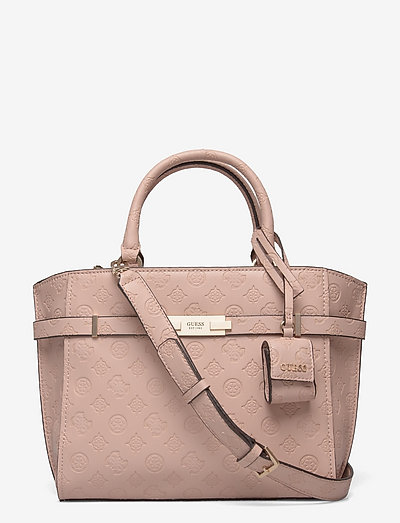 BEA SOCIETY SATCHEL - handväskor - almond
