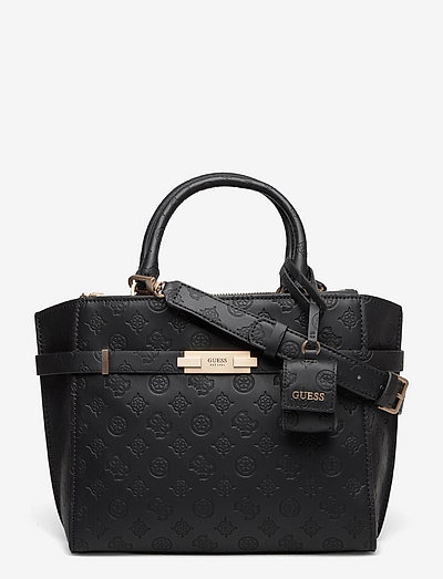 BEA SOCIETY SATCHEL - handväskor - black