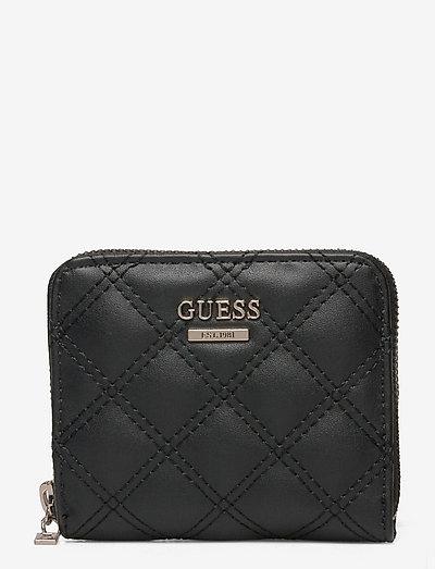 CESSILY SLG SMALL ZIP AROUND - plånböcker - black