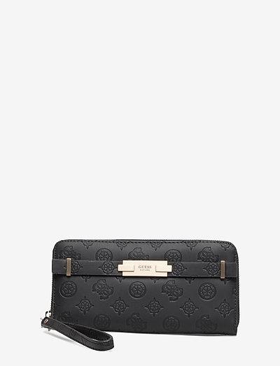 BEA SLG LARGE ZIP AROUND - plånböcker - black