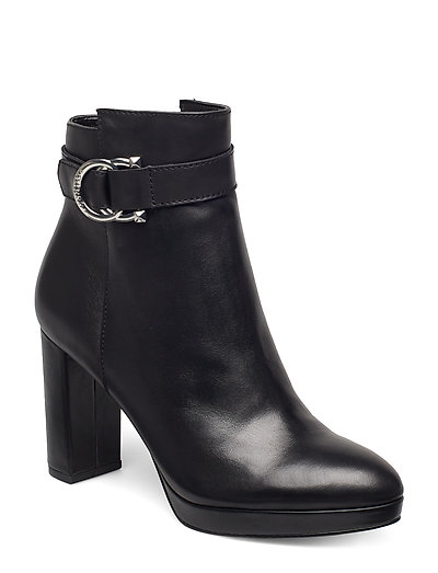Abbea/Stivaletto /Leat Shoes Boots Ankle Boots Ankle Boots With Heel Schwarz GUESS