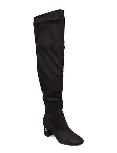 Adlee2/Stivale /Fabric Hohe Stiefel Schwarz GUESS