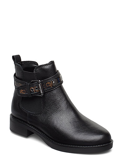 Batel/Stivaletto /Leat Shoes Boots Ankle Boots Ankle Boots Flat Heel Schwarz GUESS
