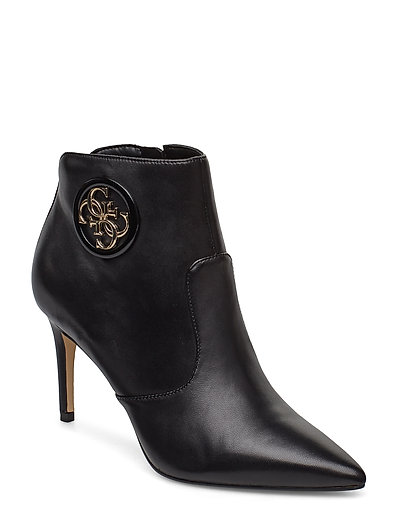 Byrne/Stivaletto /Leat Shoes Boots Ankle Boots Ankle Boots With Heel Schwarz GUESS