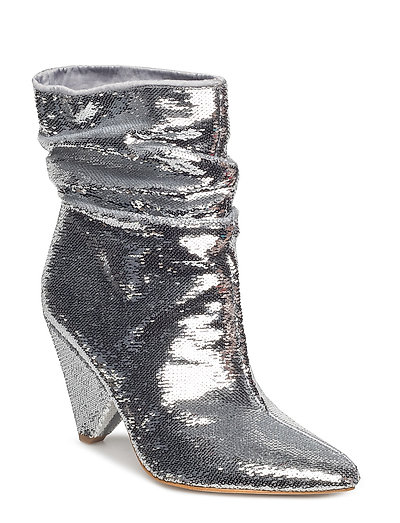 Akittan/Shootie Shoes Boots Ankle Boots Ankle Boot - Heel Silber GUESS