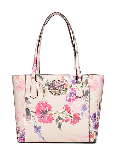 Open Road Tote Bags Shoppers Fashion Shoppers Bunt/gemustert GUESS