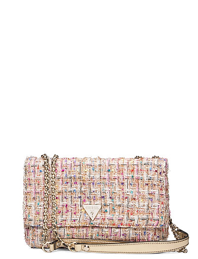Cessily Convertible Xbody Flap Bags Small Shoulder Bags - Crossbody Bags Pink GUESS