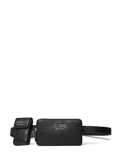 Ilenia Pocket Belt Bag Bum Bag Tasche Schwarz GUESS