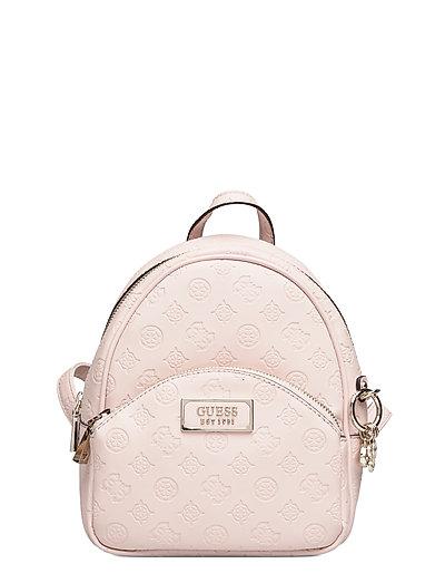 Logo Love Bradyn Backpack Bags Backpacks Fashion Backpacks Pink GUESS