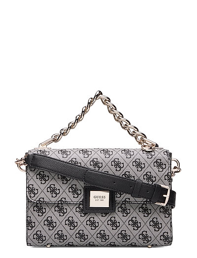Candace Top Handle Flap Bags Small Shoulder Bags - Crossbody Bags Schwarz GUESS