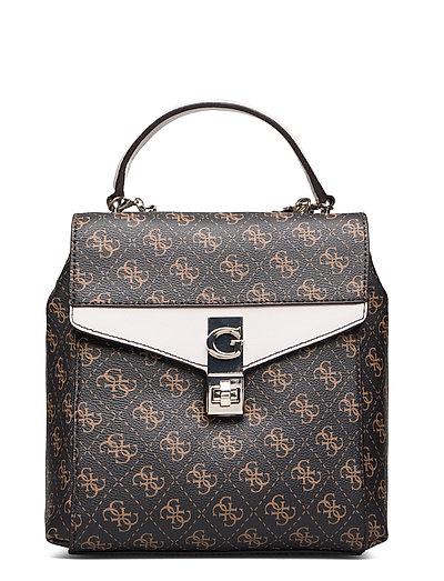 Lorenna Convertible Backpack Bags Backpacks Fashion Backpacks Braun GUESS
