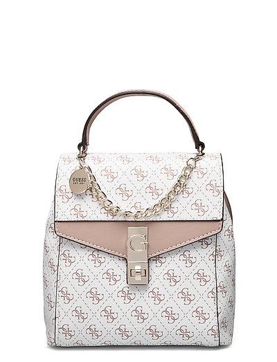Lorenna Convertible Backpack Bags Backpacks Fashion Backpacks Weiß GUESS