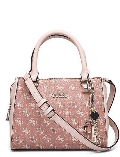 Camy Small Girlfriend Satchel Bags Top Handle Bags Pink GUESS