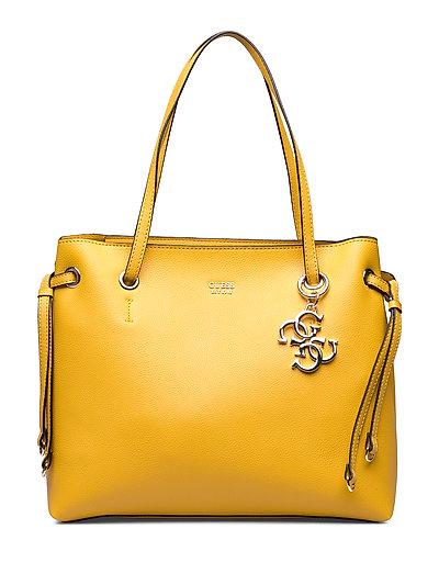 Digital Shopper Bags Shoppers Fashion Shoppers Gelb GUESS