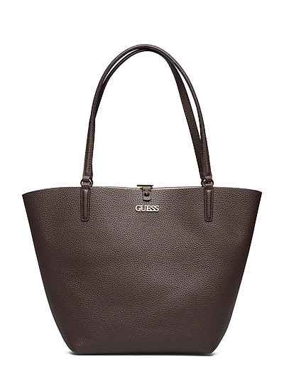 Alby Toggle Tote Bags Top Handle Bags Braun GUESS