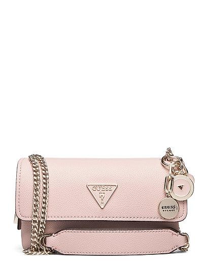 Narita Convertible Crossbody Bags Small Shoulder Bags - Crossbody Bags Pink GUESS