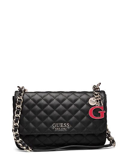 Melise Shoulder Bag Bags Small Shoulder Bags - Crossbody Bags Schwarz GUESS