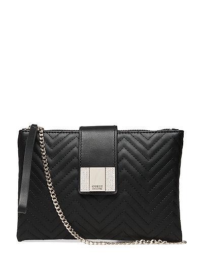 Night Twist Crossbody Top Zip Bags Small Shoulder Bags - Crossbody Bags Schwarz GUESS
