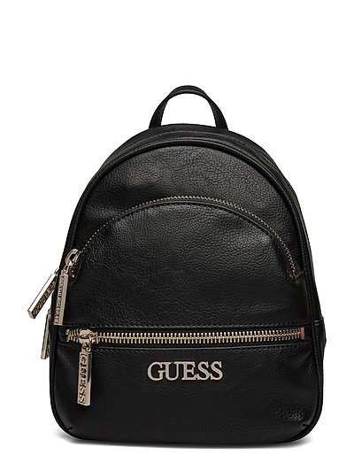 Manhattan Small Backpack Bags Backpacks Casual Backpacks Schwarz GUESS