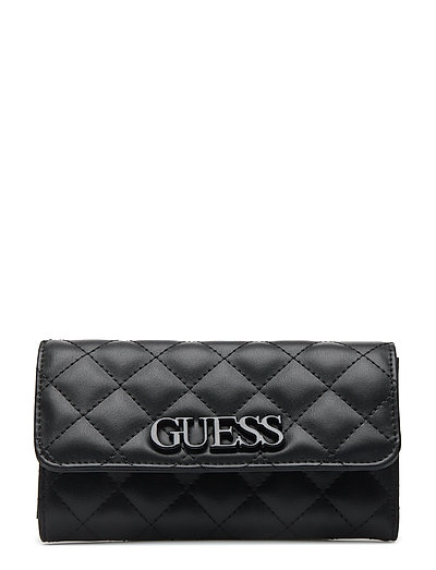 Elliana Slg Pocket Trifold (Black) (£45) - GUESS - Bags  957a3d5720