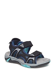 SANDAL - BLACK/BLUE