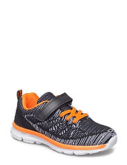 SHOES - BLACK/ORANGE