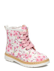 BOOTS - WHITE/PINK