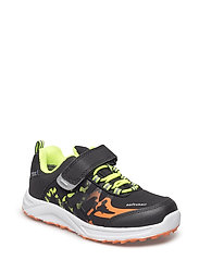 SHOES - BLACK/LIME
