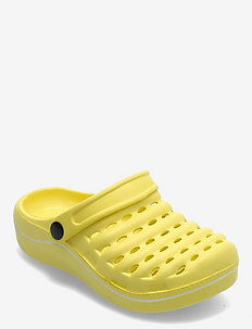 SANDAL - clogs - yellow